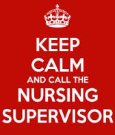 nurse supervisor
